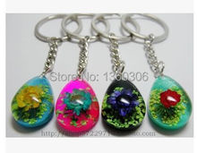 Amber flowers crafts delicate keys to seize random delivery  Key chain   1 PCS amber kell keys
