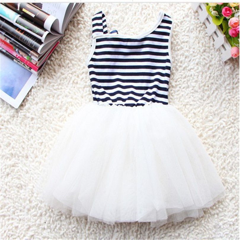Summer-Fashion-New-Baby-Girl-Ball-Gown-Dress-LaceCotton-Material-3-Colors-Age-0-2Y-3