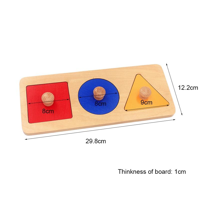 Dental House Baby Montessori Materials Juguetes de madera Juguetes - Educación y entrenamiento - foto 6