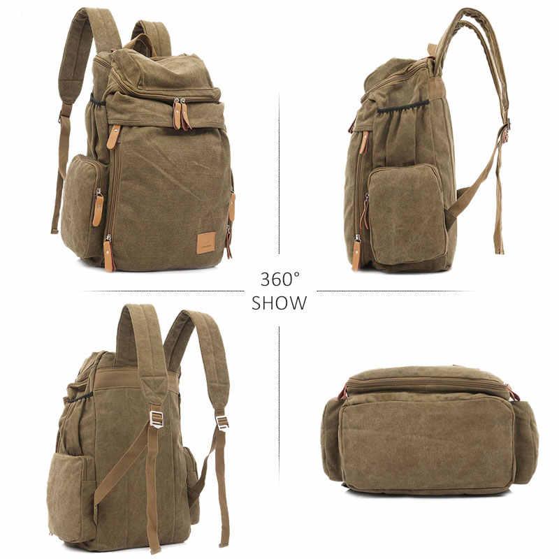 Унисекс большой емкости холщовые рюкзаки для мужчин и женщин Дорожные сумки Фитнес Спорт на открытом воздухе альпинистская спортивная сумка