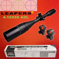 Famous Brand LEAPERS 4 16X50 Optical Sight Riflescope military use Outdoor Hunting Scope Air Rifle Sniper rifle special cope