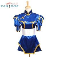 Street Fighter Chun Li Cosplay Costume For Women Girl Halloween Cosplay Costume
