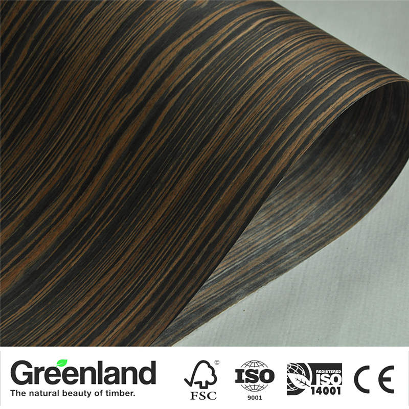 Ebony Veneer Flooring DIY Furniture Natural 250x60 Cm Bedroom Furniture Chair Table Home Furniture Bed Accessories Veneers