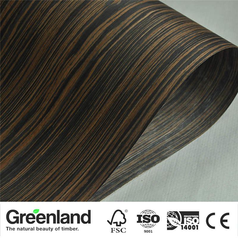 Ebony Veneer Flooring DIY Furniture Natural 250x60 Cm Bedroom Furniture Chair Table Home Furniture Bed Accessories Veneers