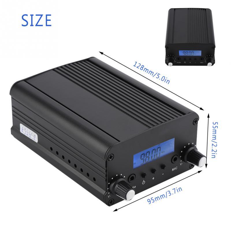 Megaphon Modestil Sender 7 Watt Stereo Fm Transmitter Broadcast Radio Station Für Universitäten Gemeinden Tragbares Audio & Video