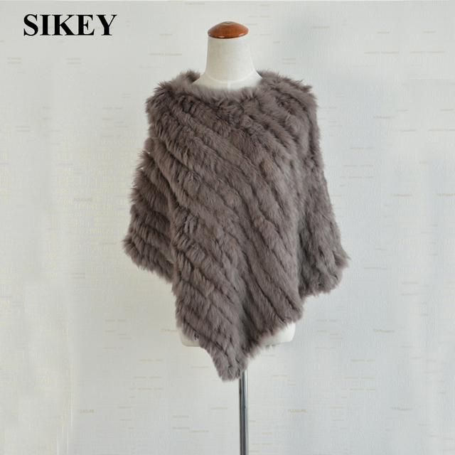 SAF012 genuine fur shawls/jackets real rabbit fur knitted Pashmina scarf 2016 new wholesale price