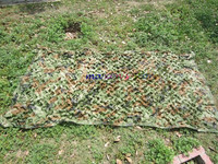 3x2M Hunting Military Camouflage Net Woodlands Leaves Jungle Camo Cover Car Drop Netting Field Game CS