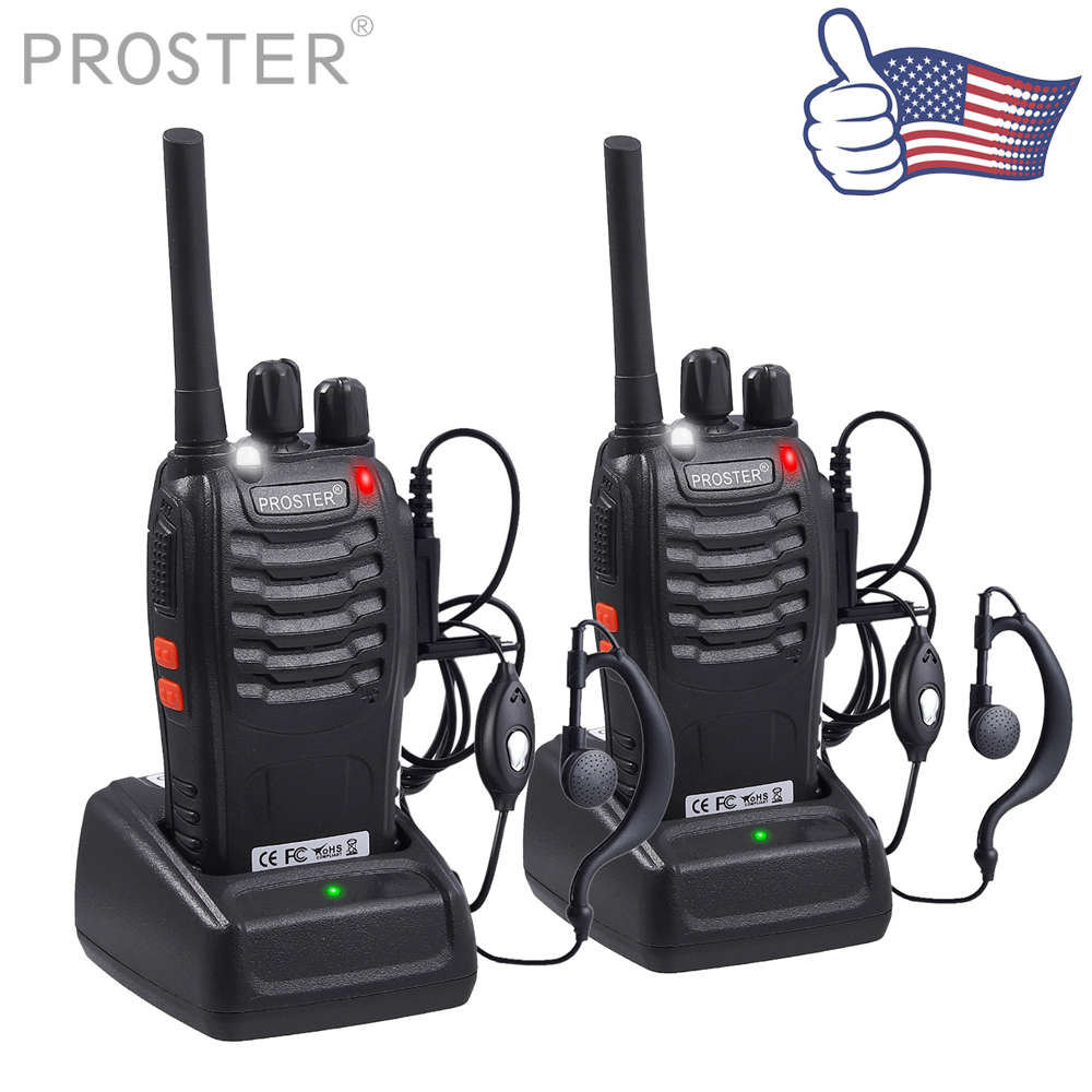 (Send from US)Proster 2x for BF-888S UHF 400-470 MHz 5W CTCSS Two-way Ham Radio 16CH Walkie Talkie for Baofeng(Send from US)Proster 2x for BF-888S UHF 400-470 MHz 5W CTCSS Two-way Ham Radio 16CH Walkie Talkie for Baofeng