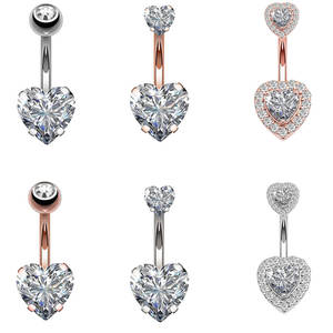NORDVEST 1PC Steel Navel Earring Body Jewelry Piercings