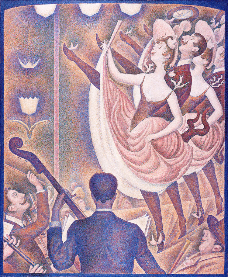 Scenery canvas painting landscape mural prints masterpiece reproduction Le Chahut By Georges Seurat