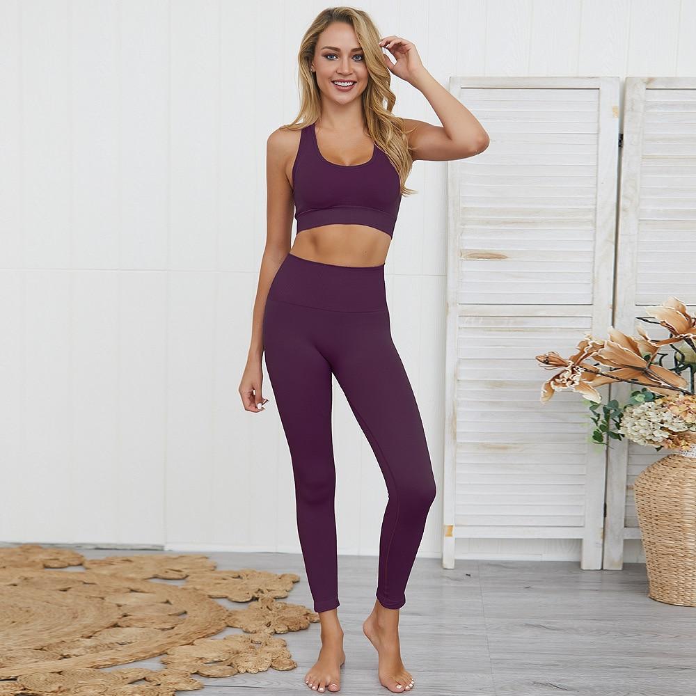 ensemble de yoga femme