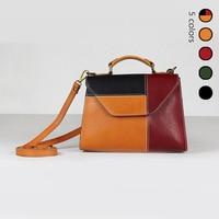 Модные женские туфли плечо сумка, разноцветная Crossbody Сумка Высокое качество Винтаж дизайнер сумки