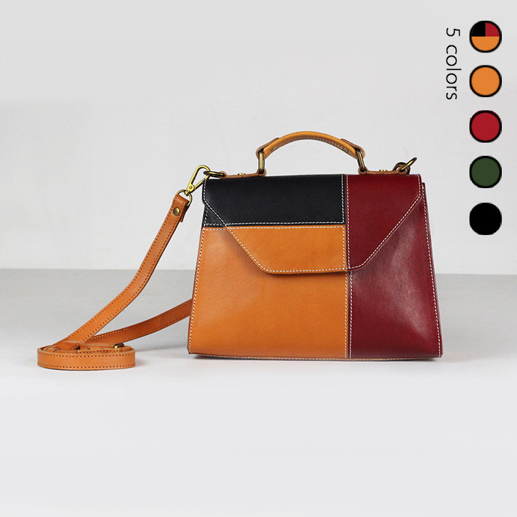 ファッションの女性のショルダーバッグキャンディカラークロスボディメッセンジャーバッグ高品質ヴィンテージデザイナーハンドバッグバッグ  グループ上の スーツケース & バッグ からの トップハンドルバッグ の中 1