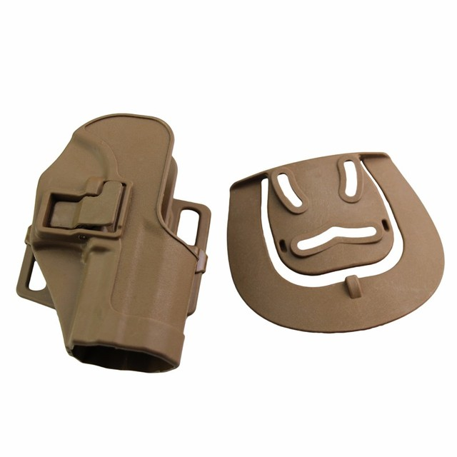 CQC Gun Holster tactical Hunting Airsoft Belt Pistol Holster for HK USP Compact Black/Green/Tan 4