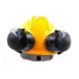 Image 4 - Nuovo Anti rumore On Casco Paraorecchie Protezione orecchie Per Il Casco di Sicurezza Cap Uso Costruzione Della Fabbrica di Sicurezza Sul Lavoro di Protezione Delludito