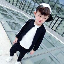 Spring Autumn Baby Girls Boys Clothes Cotton Warm Jacket+Pants 2pcs/sets Baby Boys Sports Clothing Sets  Infant suit Clothes цена