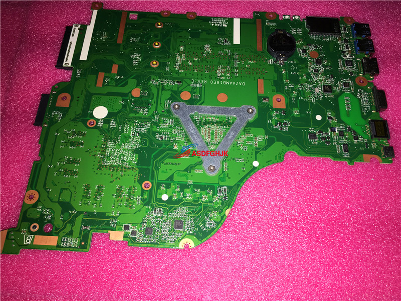 FOR ACER Aspire E5-575 Laptop Motherboard With i5-7200U 2.5GHz CPU DAZAAMB16E0 DDR4 NBGD311006 NB.GD311.006  100% TESED OK