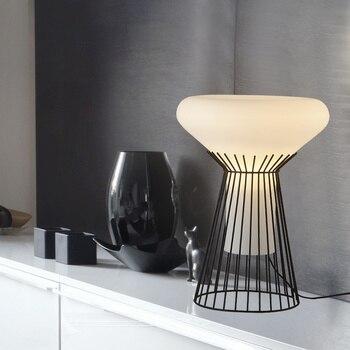 Desk For Kids Room | Modern Italian Design Table Lamp Light Simple LED Tafellamp Bedside Desk Lamp For Bedroom Living Room Kids Reading Table Lights