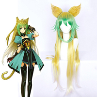 Anime Fate Apocrypha Cosplay Wig Atalanta Cosplay Wig Heat Resistant Synthetic Wig Hair Halloween Carnival Party Akanoarcher Wig