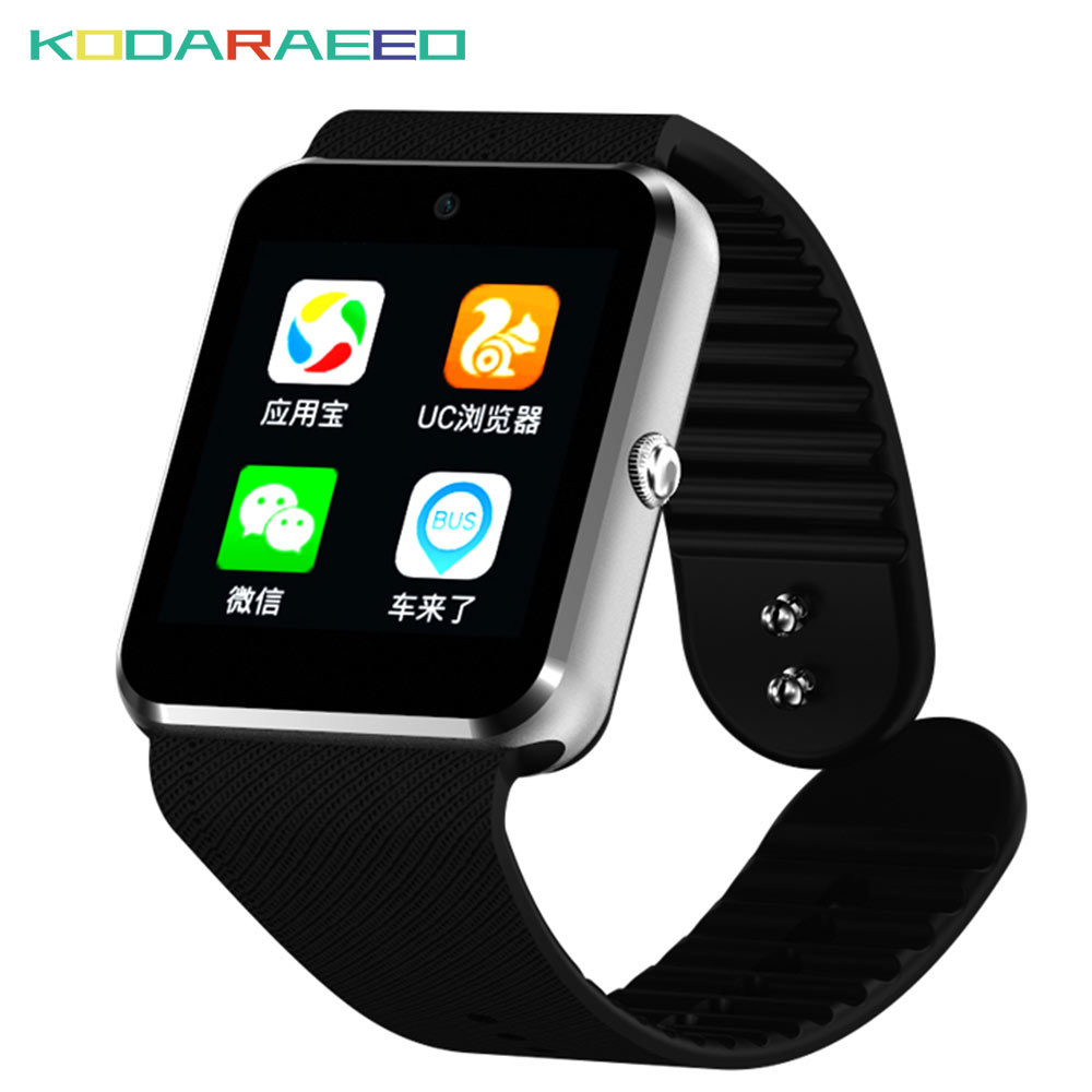 QW08 Smart Watch GT08 support 3G Wifi Android Play Store Download APP Smart Clock with Whatsapp and Facebook Reminder