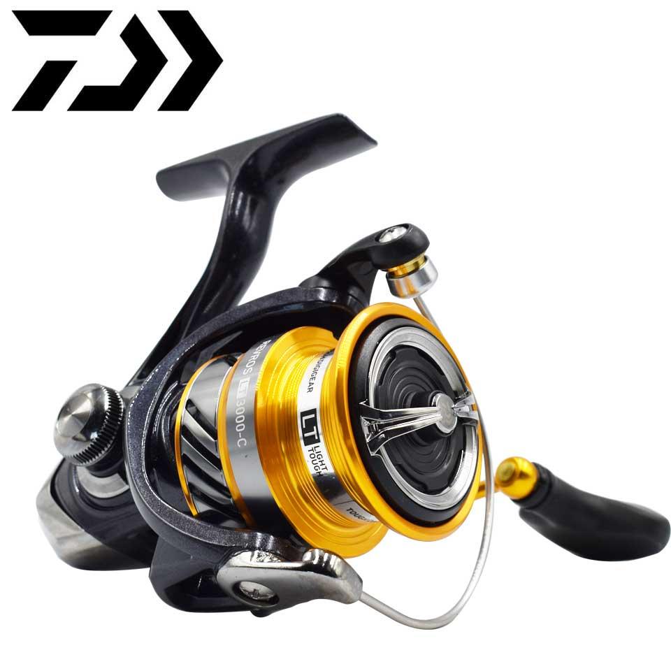 NEW DAIWA Fishing reel REVROS LT 1000-6000 fishing reel Seawater spinning Reel Max 12kg 5.1:1/5.2:1/5.3:1 Sea Spinning Reels