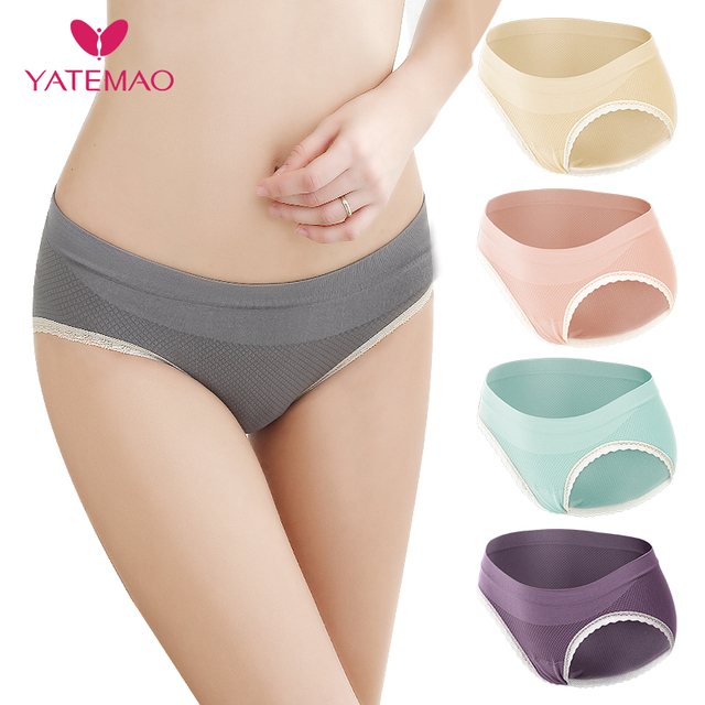 New Maternity Underwear for Pregnant Women Pregnancy Clothing Low Waist Panties