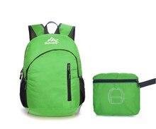Outdoor Sports Hiking Foldable backpack Camping Bike Mountain Climbing Yoga Travel Bag Nylon Waterproof Mini Tactical