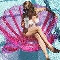 200 см  гигантский фиолетовый гребешок  надувная лодка  надувная лодка для бассейна  надувной матрас  надувное кольцо для плавания  игрушка дл...