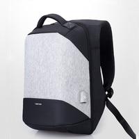 2017 New Teenage Male Fashion Leisure Travel Backpack 17 Inch Laptop Charging USB Multifunction Backpacks Anti