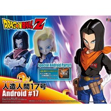 Montar Modelo Bandai Dragon Ball Z Dragon Ball Artificial Homem 17 Kits de brinquedos de PVC modelo Figura de Ação(China)