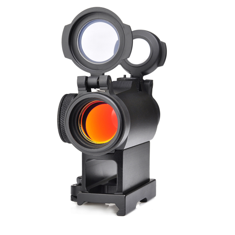 SEIGNEER Tactical 2MOA T2 Red Dot Sight Compact Red Dot Scope With QD Mount Anti-reflex Coating All Surfaces
