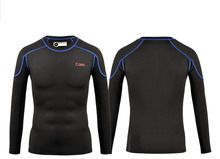 Free Shipping.winter warm set,man's clothing.Brand Thermal underwear.Dry fast.Fitness,function suits