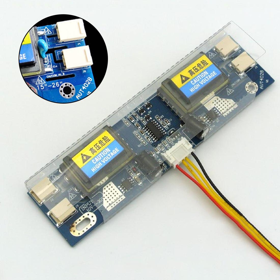 Etmakit flambant neuf IMC universel CCFL onduleur LCD écran d'ordinateur portable 4 lampe 10-30V pour écran large 15-22