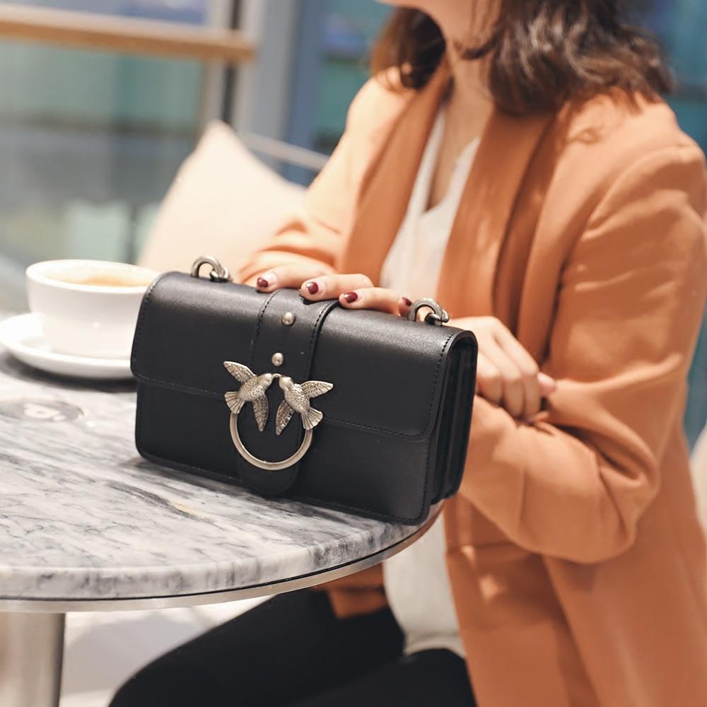 Luxury Brand Women Chain Shoulder Bag Messenger Bags Famous Designer Swallow  Lock Lady Bag Handbag. sku  32862064798 53c2598aee4e