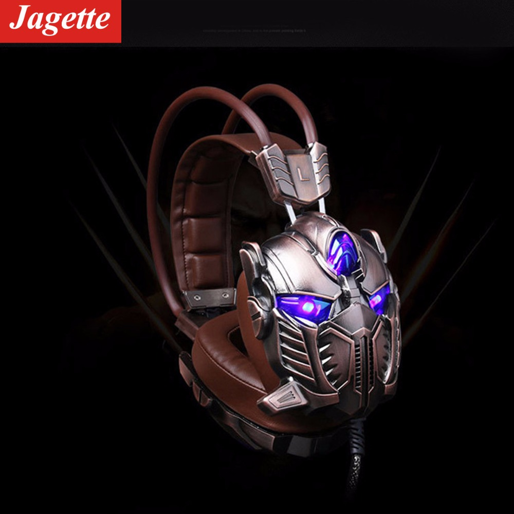 JAGETTE Gaming Headset for Xbox one PS4 PC with 7.1 Surround Sound 3D Vibration Hifi Gamer Game Headphone Headset Earphone sades a60 pc gamer headset usb 7 1 surround sound pro gaming headset vibration game headphones earphones with mic for computer