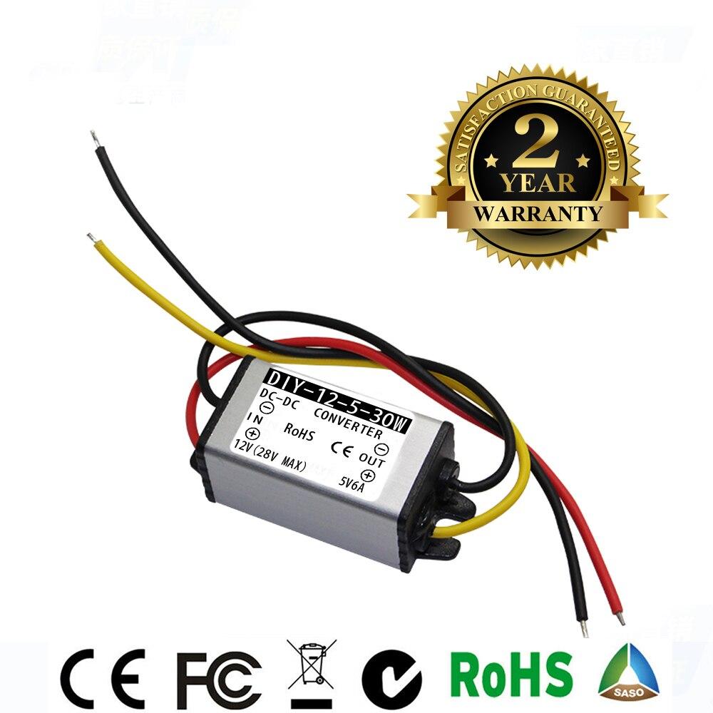 DC 12V//24V to 6V DC//DC Power Converter Regulator STEP DOWN 10A 60W