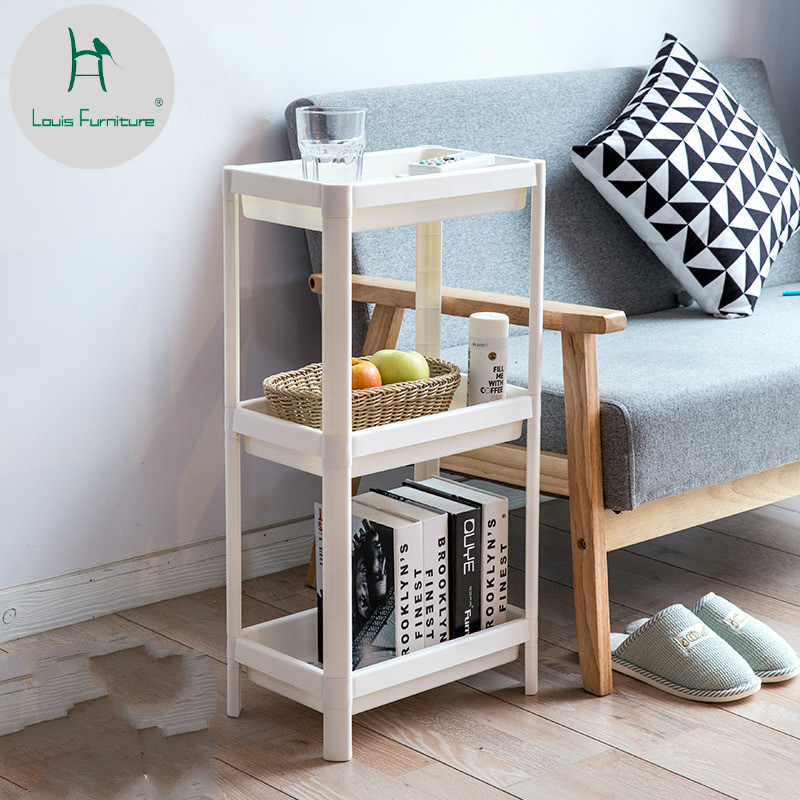 Bathroom Shelves Bathroom Fixtures Creative Balcony Hanging Wall Kitchen Storage Rack Mul Tifunctional Free Combination Bathroom Toilet Shelf
