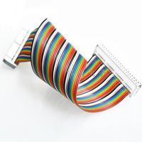 Frambuesa PI B + GPIO 40 p cable bobinado desplazamiento DIY