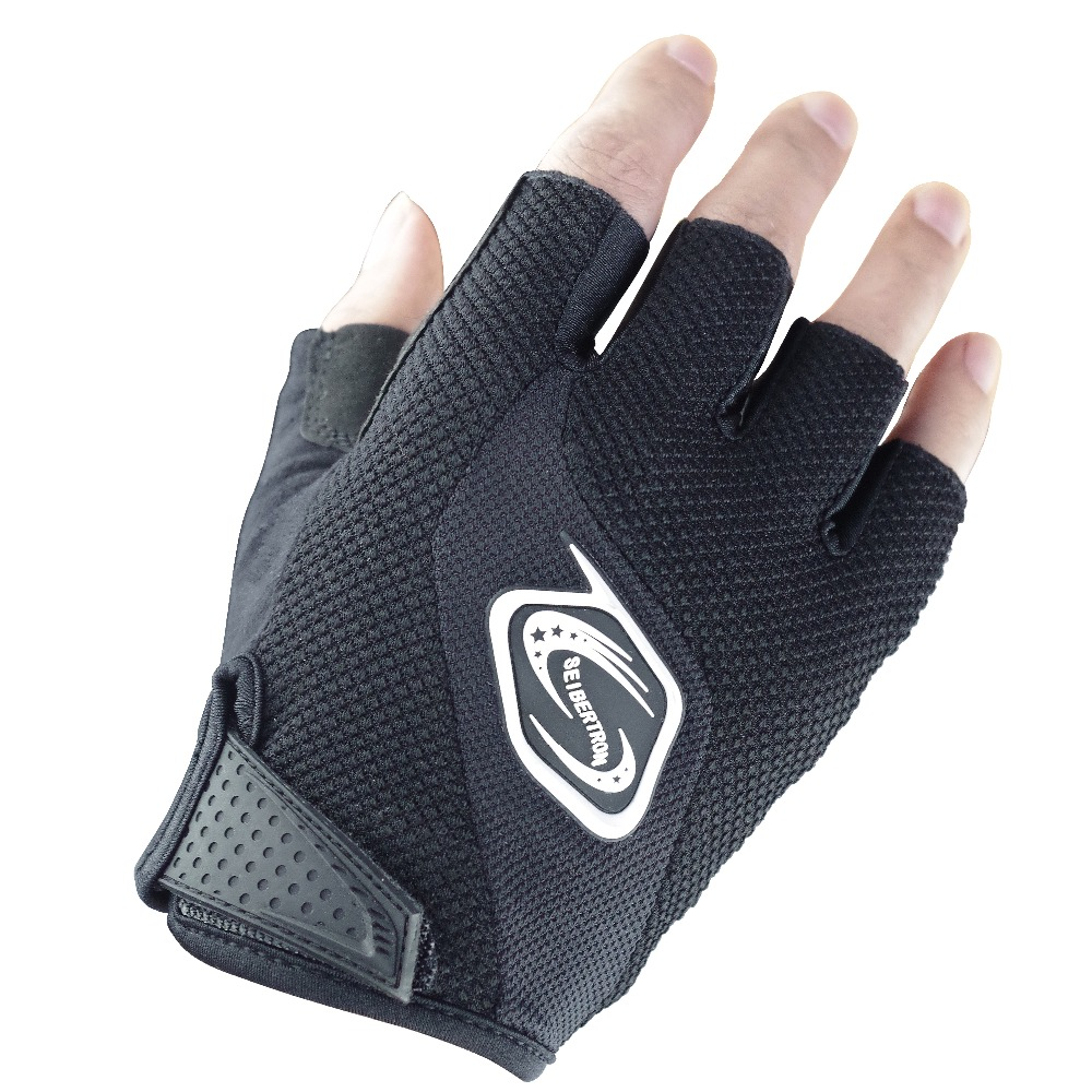 Seibertron Men / Women 's Half Finger / Fingerless Cycling MTB 장갑 Road Racing 자전거 장갑 자전거 장갑 젤 Pad Riding Glove