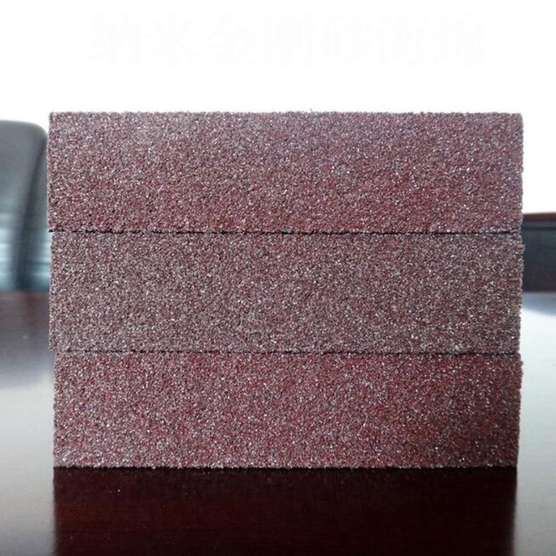 Cocina Nano Emery Magic Clean Pot Rub Focal Óxido Manchas Esponja Cepillo de Eli