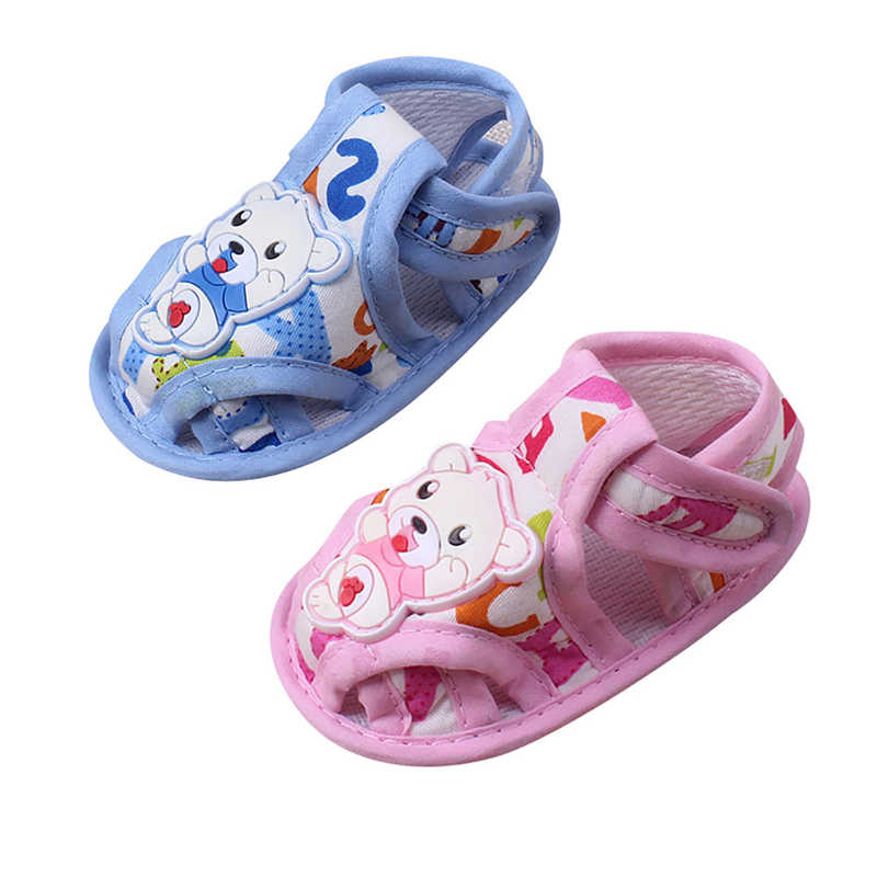 Latest Sandal Children Summer Baby Girl Boy Soft Sole Cartoon Anti-slip Casual Shoes Toddler Sandals TX4**