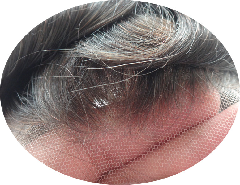 739025b2158 US $145.0 |Swiss lace or French lace men Toupee For Men Bleached and tiny  Knots Hair replacement , hair system , men wig free shipping-in Toupees  from ...