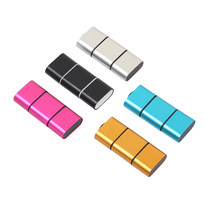 5 Colors Mini Card Reader OTG Type C to USB 2.0 High Speed Micro SD TF Card Reader Adapter For Android Phone(China)