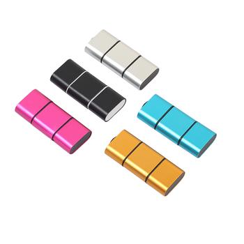 5 kolorów czytnik mini kart typ otg C do USB 2 0 wysokie obroty mikro karta sd tf adapter do czytnika na telefon z systemem android tanie i dobre opinie All in 1 multi w 1 Micro SD Karty tf Zewnętrzny Card Reader TYPE-C centechia