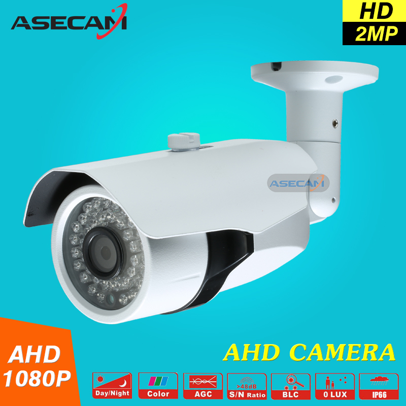 New 1080P AHD Surveillance cctv Camera AHDH System Security Cameras Outdoor Waterproof Bullet 36*leds infrared Night Vision new cctv ahd hd 960p surveillance waterproof outdoor metal bullet security camera infrared night vision 50meter