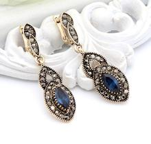 Vintage long drop earrings Turkish Women