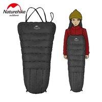 Naturehike Mini Half Chest Strap Duck Down Sleeping Bag Outdoor Camping Winter Down Mummy Sleeping Bag