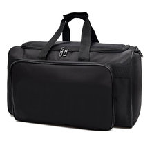 2019 New Big Men Travel Bag Large Capacity Women travel bag organizer Black Hand Luggage Duffle Bag Waterproof Weekend Bags