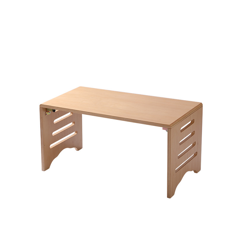 wooden sofa table legs tan living room decor modern wood foldable leg folding rectangle 80 42cm sku 32686109300