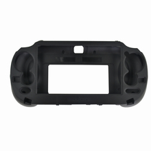 лучшая цена Plastic Grip Handle Hold Stand Shell Protect Case with L2 R2 Trigger Button For PSV1000 PS VITA 1000 Game Console Hand Grip
